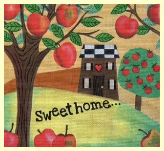 click here to view larger image of Sweet Home (hand painted canvases)