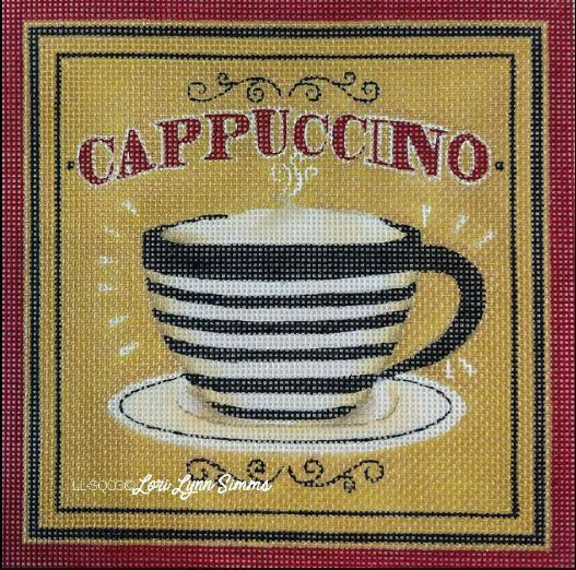 click here to view larger image of Cappuccino (hand painted canvases)