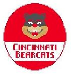 click here to view larger image of Cincinnati Bearcats (hand painted canvases)