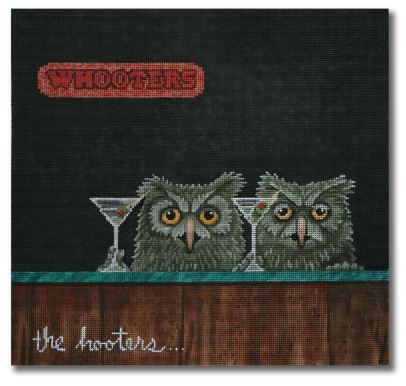 click here to view larger image of Hooters, The (hand painted canvases)