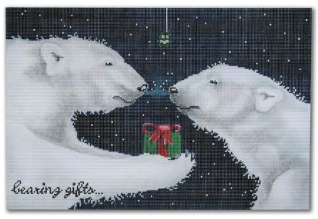click here to view larger image of Bearing Gifts (hand painted canvases)