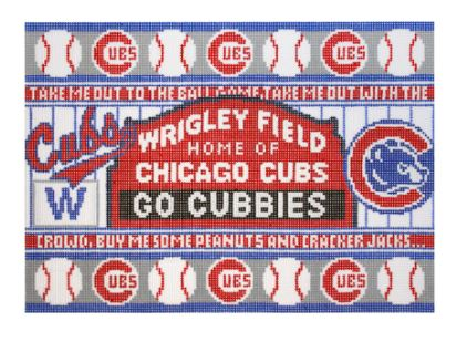 click here to view larger image of Chicago Cubs (hand painted canvases)