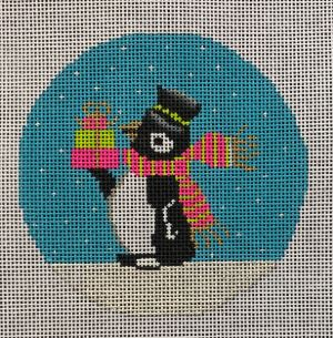 click here to view larger image of Preppy Penguin (hand painted canvases)