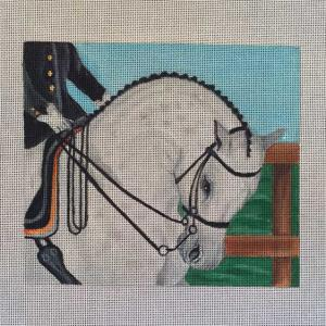 click here to view larger image of Dressage (hand painted canvases)