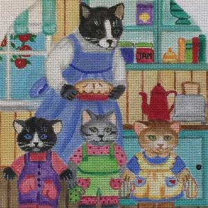 click here to view larger image of 3 Little Kittens - Stand Up (hand painted canvases)