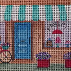 click here to view larger image of Bakery, The (hand painted canvases)