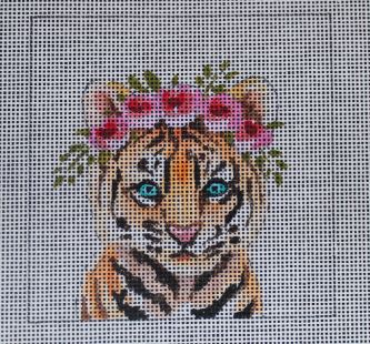 click here to view larger image of Insert - Baby Tiger (hand painted canvases)