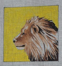click here to view larger image of Insert - Lion (hand painted canvases)