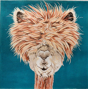 click here to view larger image of Alpaca (hand painted canvases)