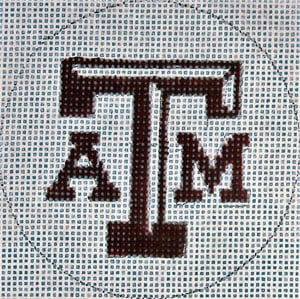click here to view larger image of Flask - Texas A&M (hand painted canvases)