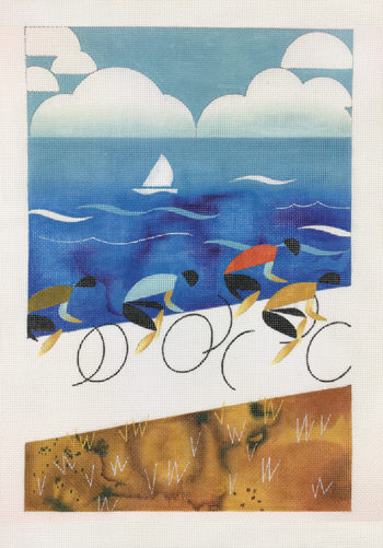 click here to view larger image of Tour Down Under (hand painted canvases)
