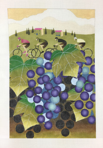 click here to view larger image of Giro D'Italia Vineyard (hand painted canvases)