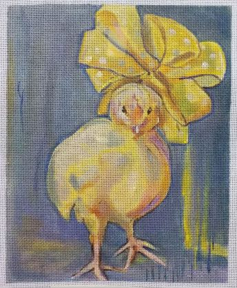 click here to view larger image of Chickie (hand painted canvases)