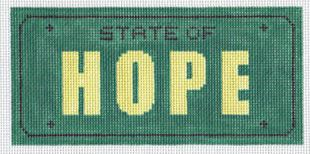 click here to view larger image of State of Hope (hand painted canvases)