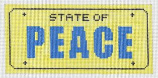 click here to view larger image of State of Peace (hand painted canvases)