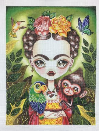 click here to view larger image of Frida Querida (hand painted canvases)