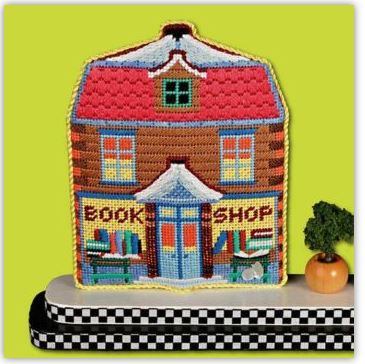 click here to view larger image of Book Store (hand painted canvases)
