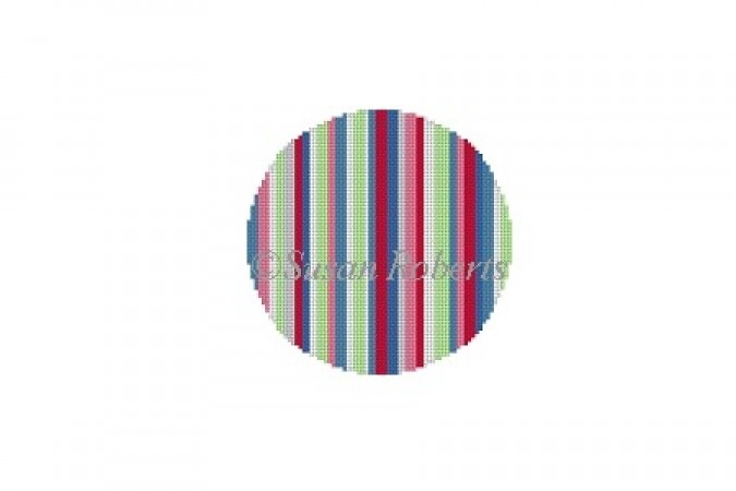 click here to view larger image of Candy Stripe (hand painted canvases)