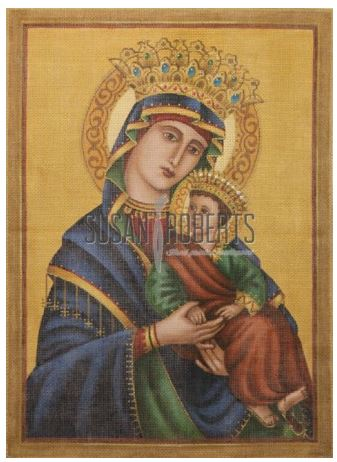 click here to view larger image of Our Lady of Perpetual Help (hand painted canvases)