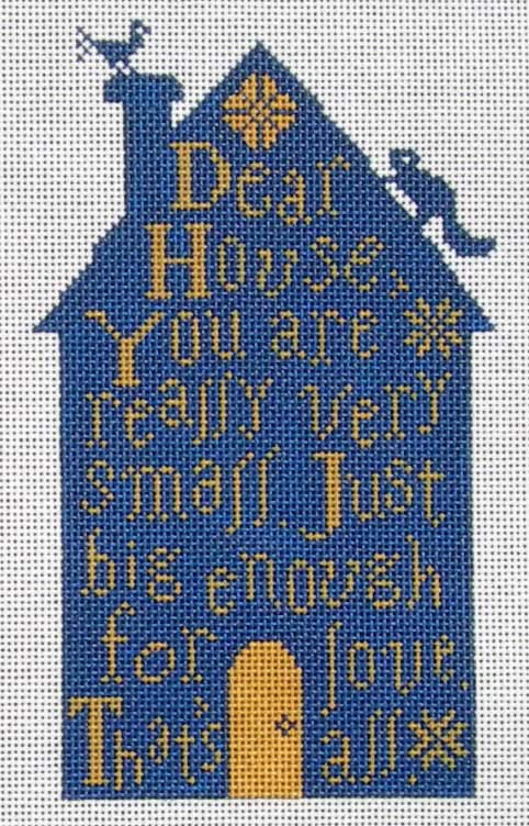 click here to view larger image of Dear House (hand painted canvases)