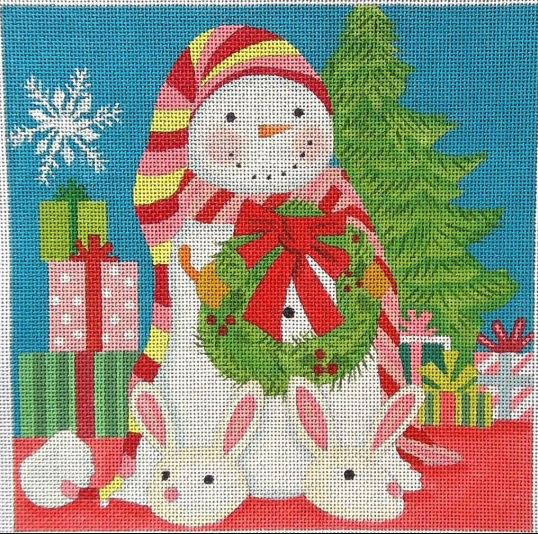Christmas Morning Snowman - click here for more details