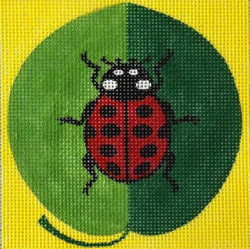 click here to view larger image of Mini Lady Bug (hand painted canvases)