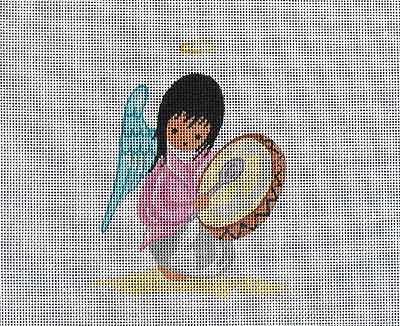 click here to view larger image of Angel Drummer (hand painted canvases)