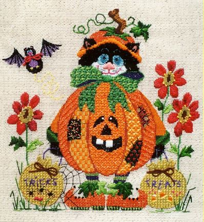 click here to view larger image of Poopsey Pumpkin (hand painted canvases)