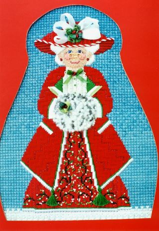 click here to view larger image of Mrs Holly Claus (hand painted canvases)