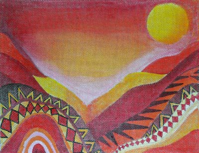 click here to view larger image of Desert Love 1 (hand painted canvases)