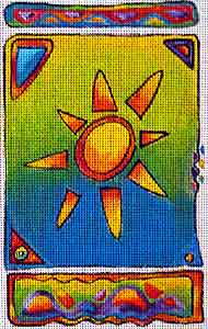 click here to view larger image of Arizona Sun (hand painted canvases)