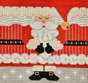 click here to view larger image of Santa Roll Up - Medium  (hand painted canvases)