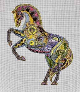 click here to view larger image of Stallion (hand painted canvases)