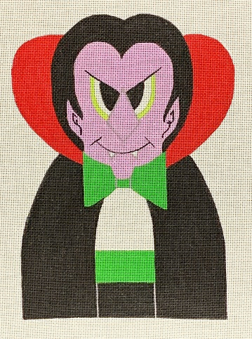 click here to view larger image of Count of Needlemania, The (hand painted canvases)