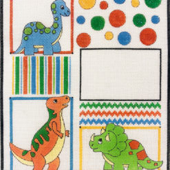 click here to view larger image of Dinos and Balloons (hand painted canvases)