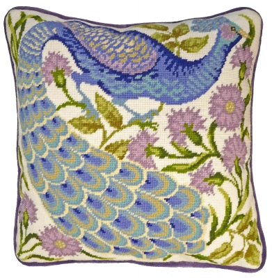 click here to view larger image of Peacock (needlepoint kits)