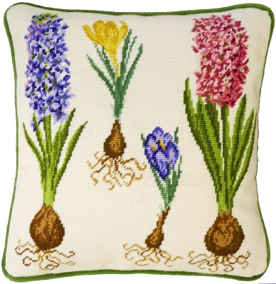 click here to view larger image of Hyacinth and Crocus (needlepoint kits)