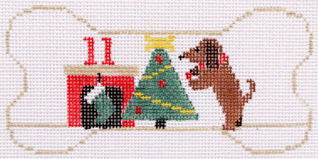 click here to view larger image of 11 Dachshunds Decorating (hand painted canvases)