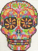click here to view larger image of Day of the Dead Skull 3 (hand painted canvases)