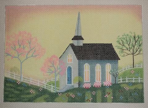 click here to view larger image of Morning Church (hand painted canvases)