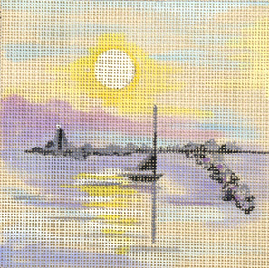 click here to view larger image of Ivory Harbor (hand painted canvases)