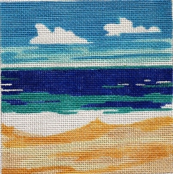 click here to view larger image of Beach Front Landscape (hand painted canvases)