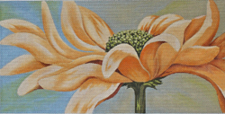 click here to view larger image of Morning Daisy - Yellow Gerber Daisy (hand painted canvases)