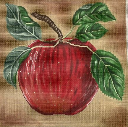 click here to view larger image of Apple (hand painted canvases)