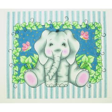 click here to view larger image of Elephant Bazoople (hand painted canvases)
