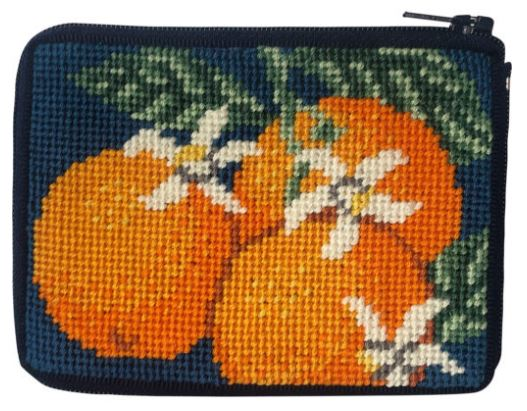 click here to view larger image of Oranges - Stitch and Zip (needlepoint kits)