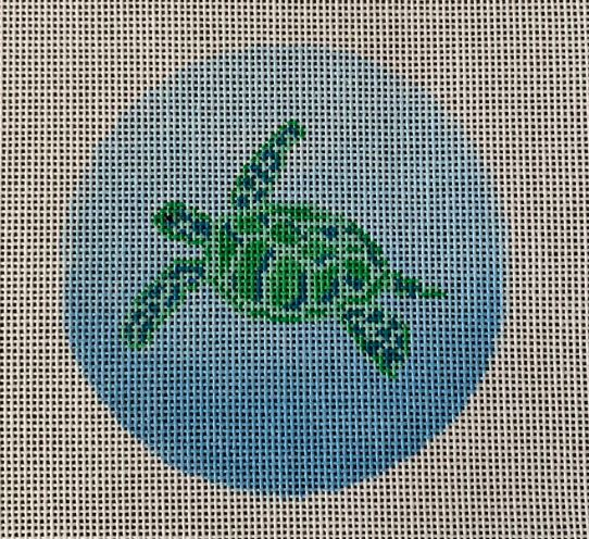 click here to view larger image of Sea Turtle (small) (hand painted canvases)