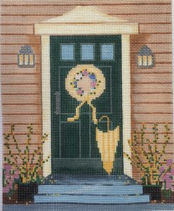 click here to view larger image of Spring Doorway (hand painted canvases)