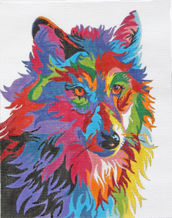 click here to view larger image of German Shepherd (hand painted canvases)