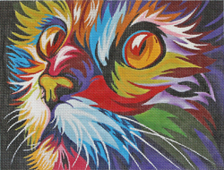 click here to view larger image of Cats Watching You (hand painted canvases)